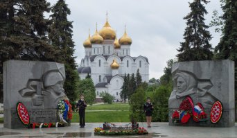The capital of the Golden Ring: Yaroslavl town