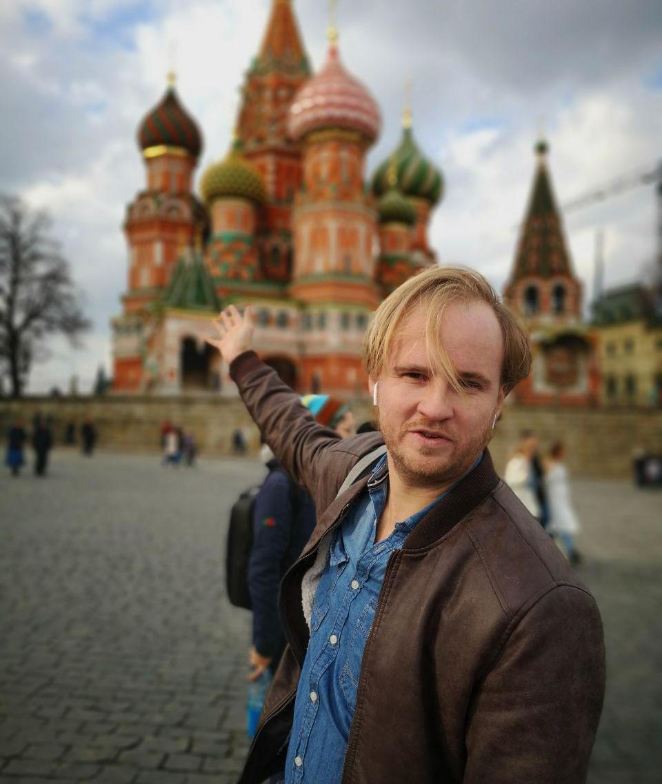 Tony Terentev, private tour guide in Moscow