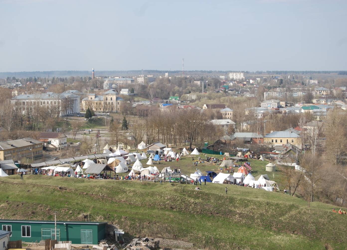 Medieval Festival in Torzhok, small town in Russia