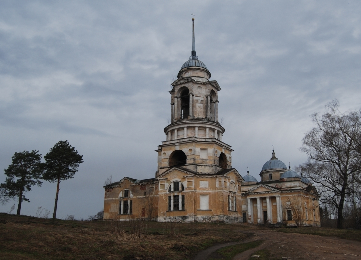 Abandoned monastery in Russia