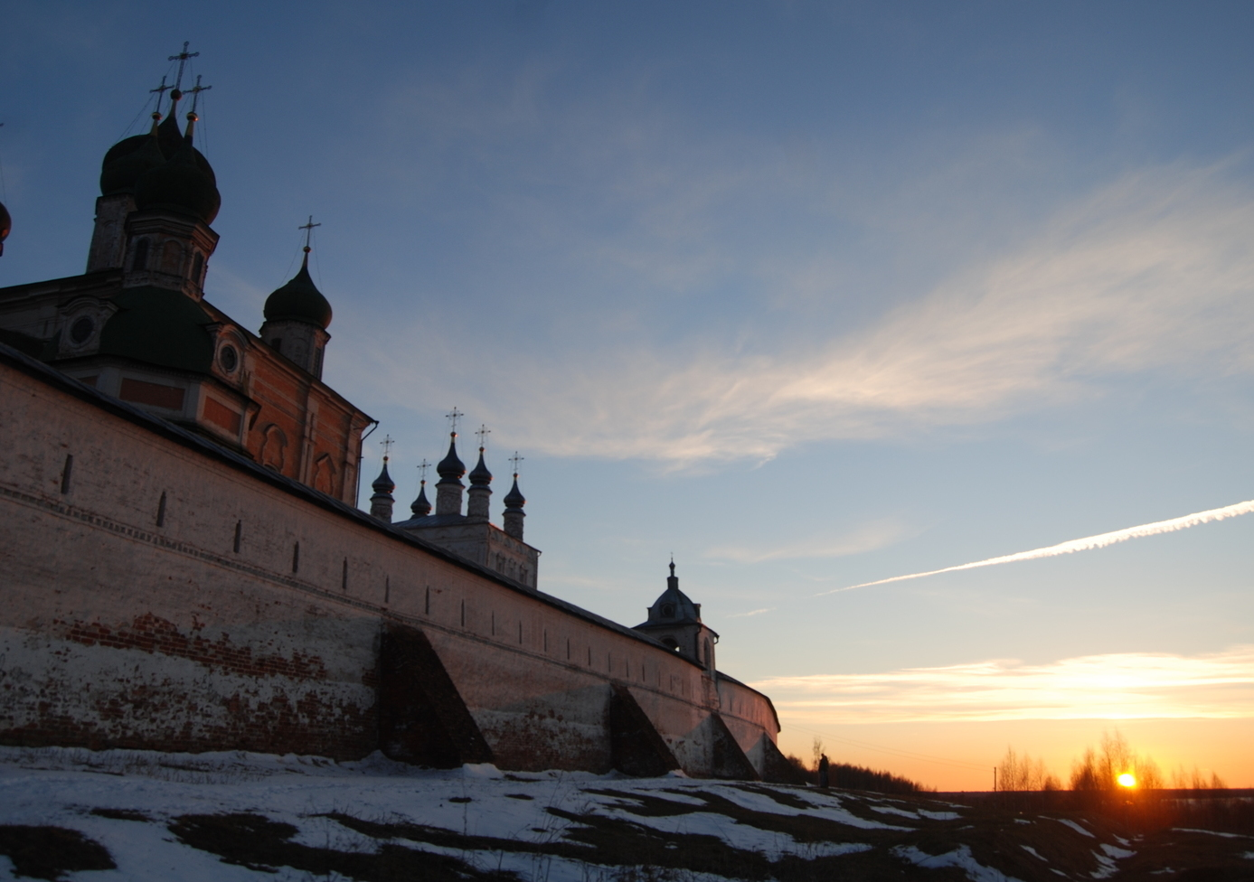 ne of the most ancient monasteries of Russia - Goritsky Assumption