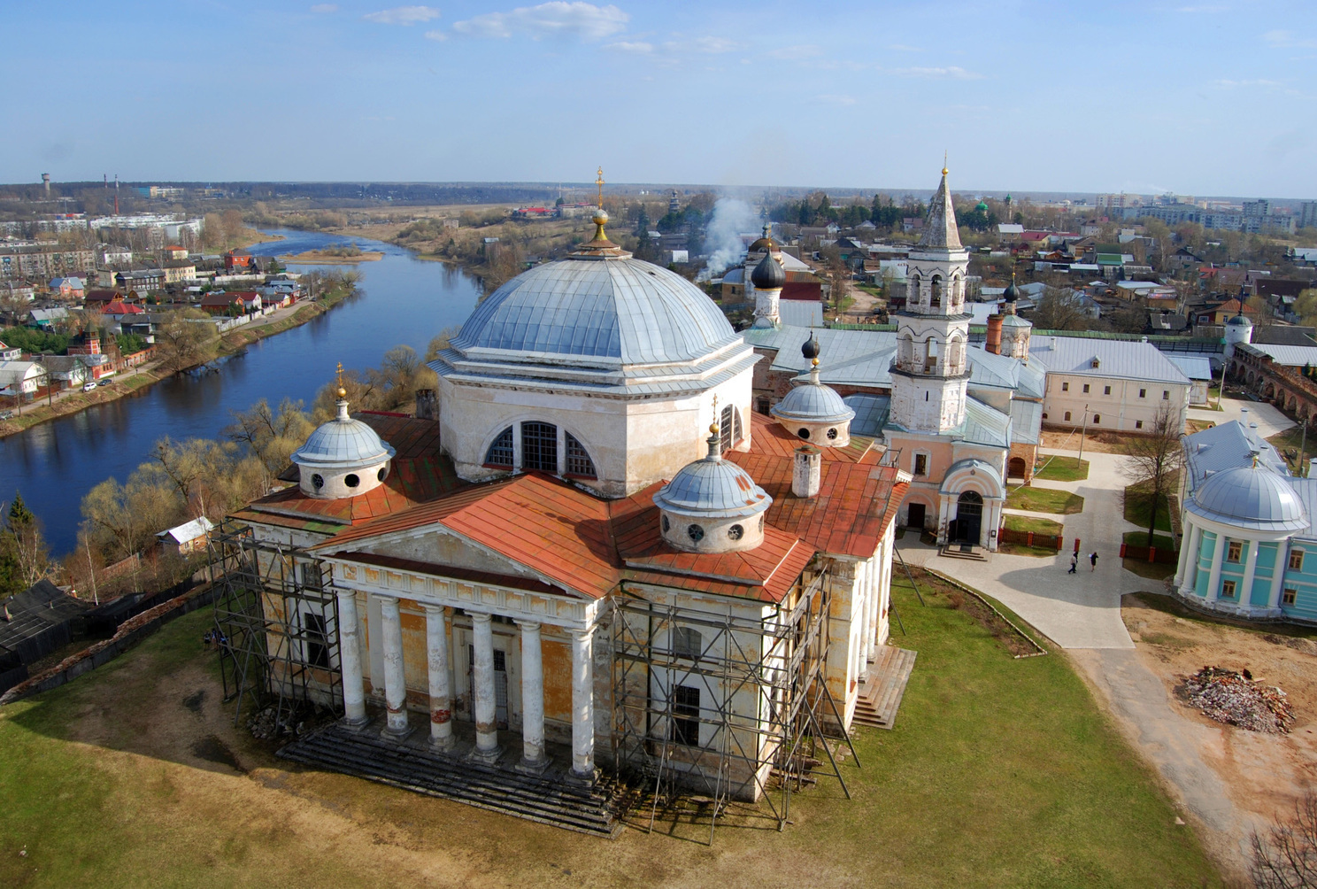 Torzhok, small town in Russia